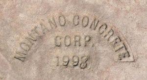 Montano Concrete Stamp